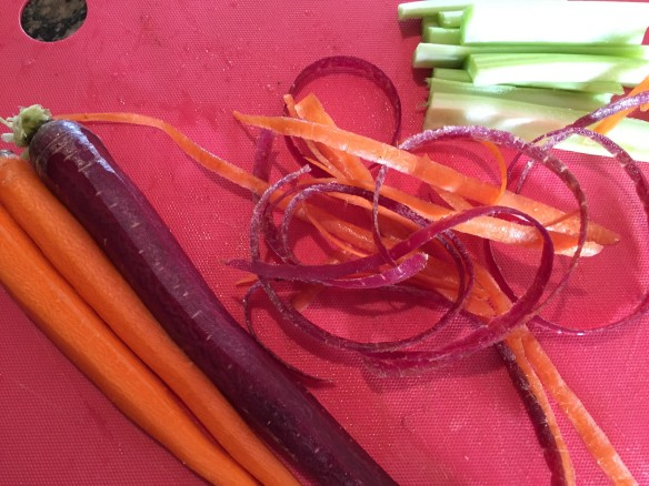 carrot curls