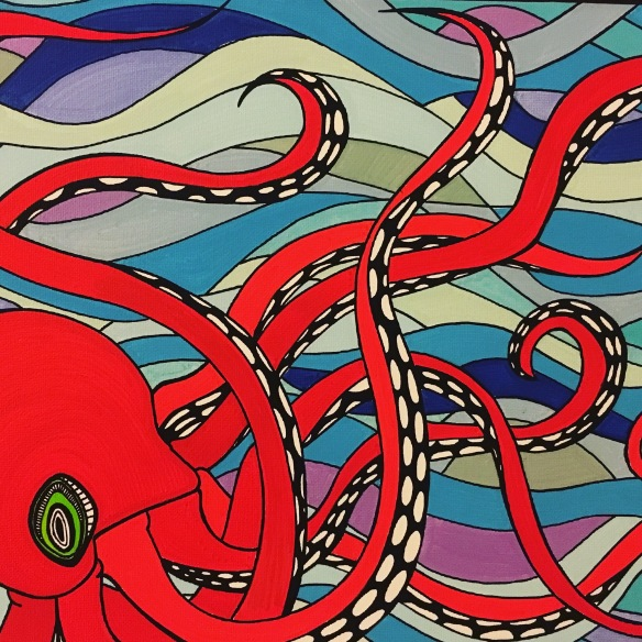 Hoag octopus
